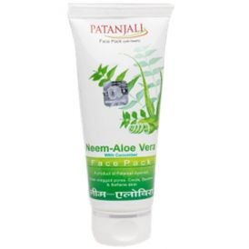 face wash from patanjali ayurved ltd  patanjali neem aloevera with